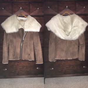 Other - Genuine Shearling Jacket /// Hooded / 💥TRADE💥